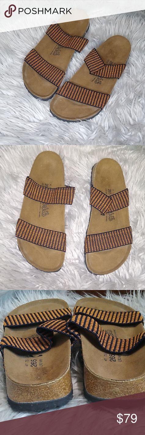Birkenstock Curacao elastic strap sandals Birkenstock