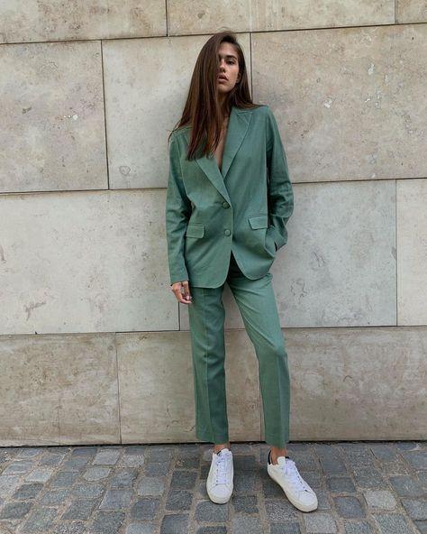 "QDRESSCODE®️ on Instagram: ""💚 this colour via @agreeg: #love #style #instagood #streetstyle #girl #model #picoftheday #fashion #instalike #blogger #fashionista…"""