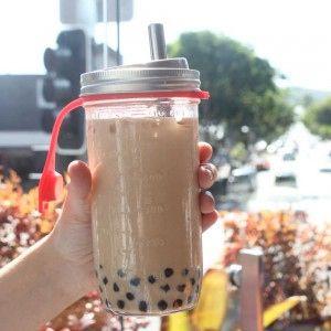 Reusable Bubble Tea Kit Green Plug Biome Eco Stores Bubble Tea Straws Bubble Tea Reusable Cups