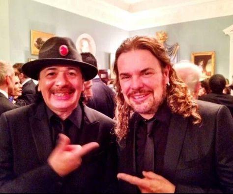 Carlos Santana and Fher