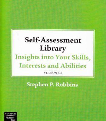Self Assessment Library 3 4 Pdf Self Assessment Assessment Self