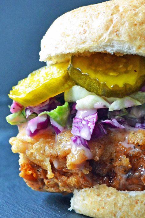Best homeade fried chicken sandwich.