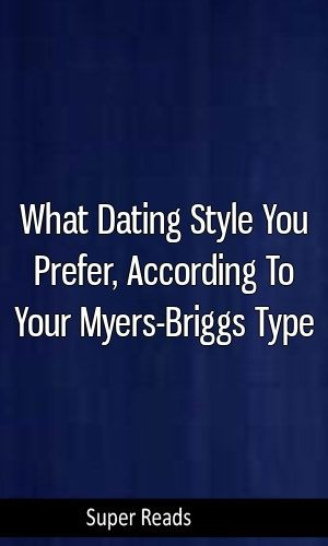 myers briggs dating style