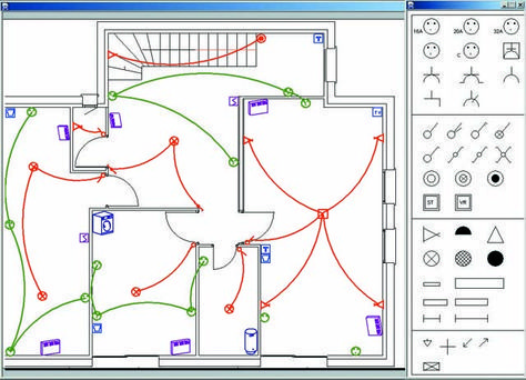 Resultat De Recherche D Images Pour Plan D Electricite Autocad Schema Electrique Schema Electrique Maison Installation Electrique Maison