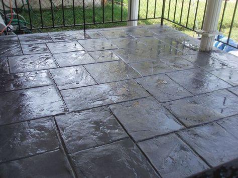 Stamped Concrete Patterns Stamped Concrete Decorative
