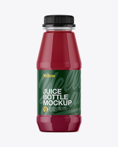 Download Free PSD Mockup Plastic Bottle With Berry Juice Mockup ... Free Mockups