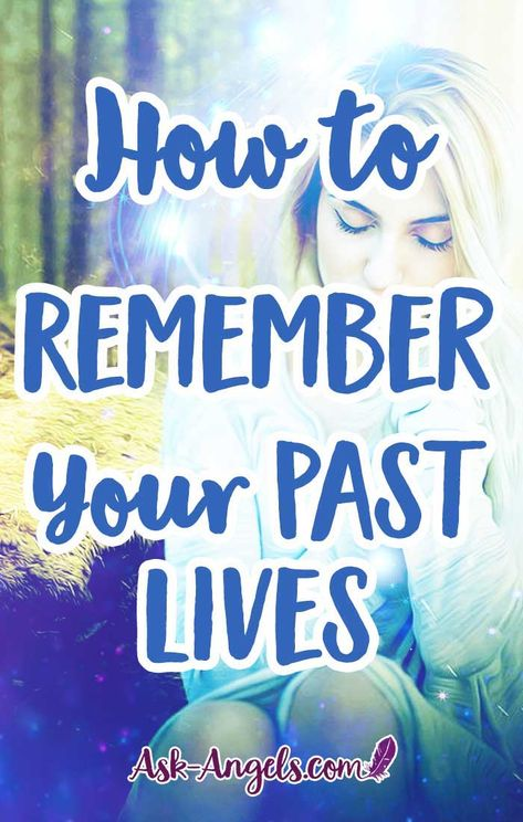 How to Remember Your Past Lives. If you are curious about some of the past lives you may have experienced, a good place to begin is by looking at your current interests, as well as your fears. #psychic #pastlives