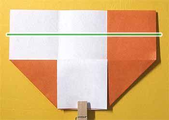 折り紙で椅子 いす の折り方 簡単な家の家具の作り方 セツの折り紙処 2020 編み 図 折り紙 作り方