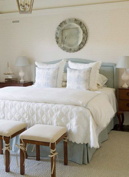 Master Bedroom Inspiration From Phoebe Howard Blue And White Home Master Bedroom Inspiration Bedroom Inspirations Traditional Bedroom