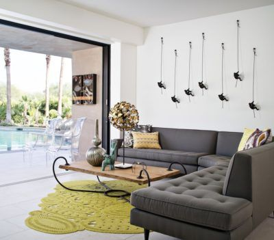Image Result For Mid Century Chartreuse Paint Color Family Room