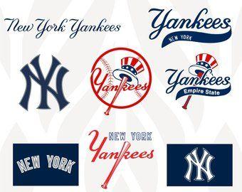 New York Yankees Svg Etsy New York Yankees Yankees Ny Yankees