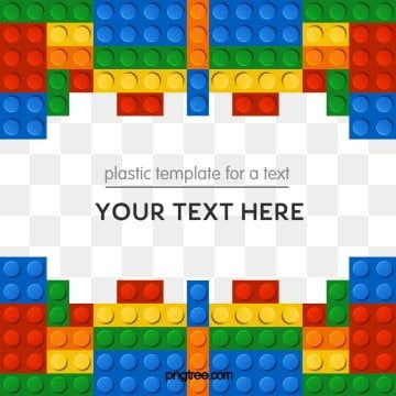 Lego Blocks Decorative Border Blocks Color Lego Png Transparent Clipart Image And Psd File For Free Download Lego For Kids Clip Art Borders Game Logo