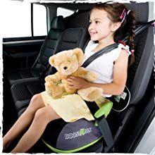 Trunki BoostApak Kinderrucksack mit integriertem Kindersitz Gruppe 2//3 gr/ün
