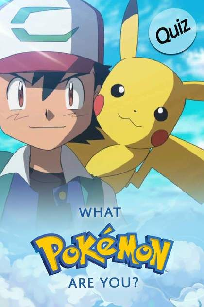 Quiz What Pokemon Are You What Pokemon Are You Pokemon Quiz Pokemon