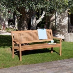 Banc Amadeo Bois L158 Cm En 2020 Bancs Mobilier Jardin Amenagement Jardin