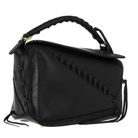 Handtasche, Loewe, Puzzle Bag Laced Black