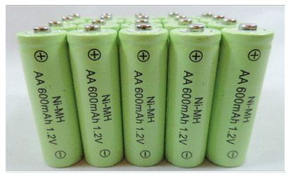 20 Aa Rechargeable Batteries Nimh Ni Mh 600mah 1 2v Garden Solar Light Solar Lights Garden Off Grid Batteries Rechargeable Batteries