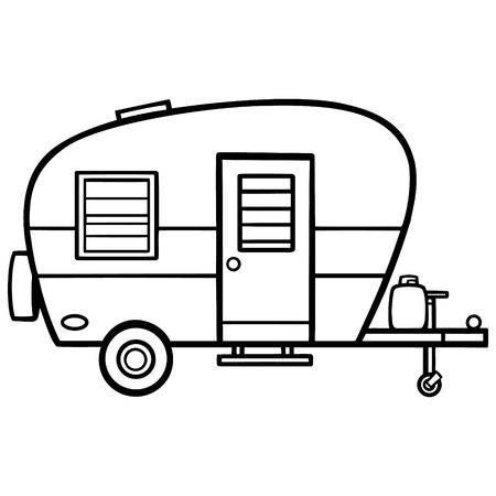 123rf Millions Of Creative Stock Photos Vectors Videos And Music Files For Your Inspiration And Proje Vintage Camper Art Camper Art Camping Theme Classroom