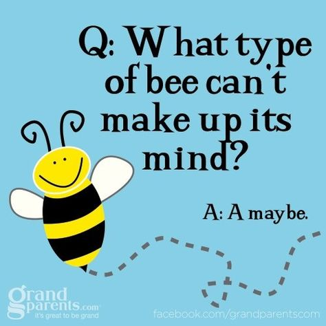 What type of bee can't make up it's mind? A Maybe! Do you have a stinging insect problem around your house or place of business?