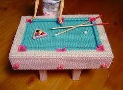 Free Plastic Canvas Barbie Furniture - Bing Images