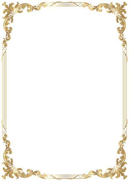 Border Frame Decoration Transparent Image