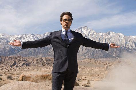 Tony Stark is Iron Man