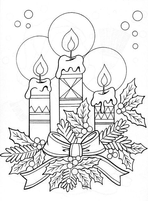 Открытки рождество нарисованные