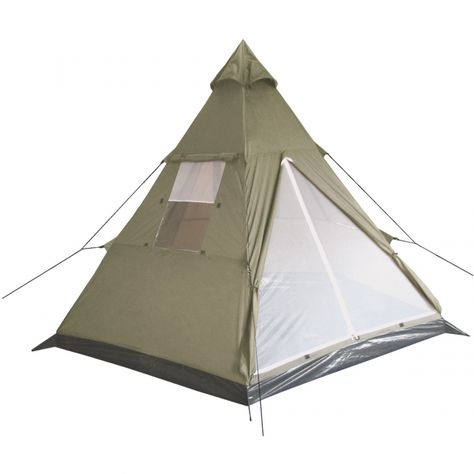 Ozark Trail Camping Tent 7 Person Teepee Outdoor Cabin