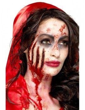 latex sår halloween