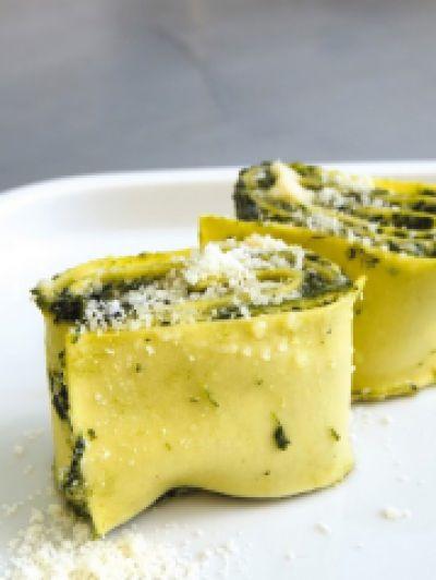 Recette - Lasagnes roulées aux épinards et à la ricotta - Notée 4.3/5 par les internautes
