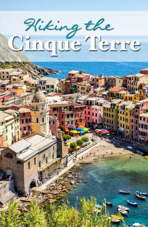 Hiking the Cinque Terre in Italy. Learn what it is like hiking the Cinque Terre with kids in July.