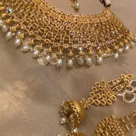 Amanii Arabian Gold Necklace Set!