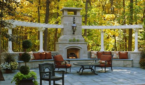 Outdoor Fireplaces Landscaping Outdoor Kitchens Outdoor Living