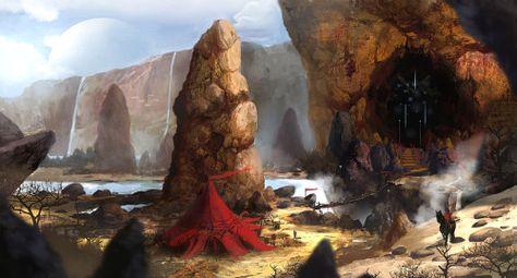 Mountain Peak by rickyryan #FantasyArt #ファンタジーアート #Fantasie kunst #Фэнтези искусство #art d'imaginaire #arte de la fantasía 💋🎨 - https://wp.me/p7Gh1Z-19F #kunst #art #arte #sztuka #ਕਲਾ #konst #τέχνη #アート