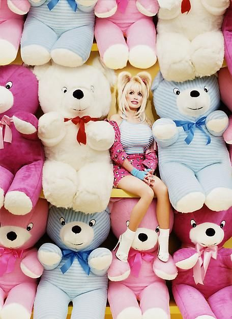 Dolly Parton photographed by David LaChapelle