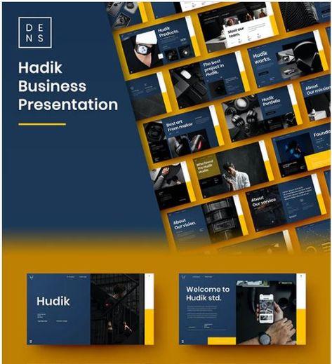 Hadik – Business PowerPoint Template
