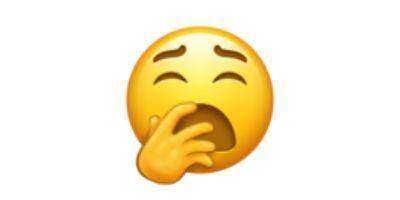 What Does The 2019 Introduction Of A Yawn Emoji Mean Emoji Yawning Wax Art
