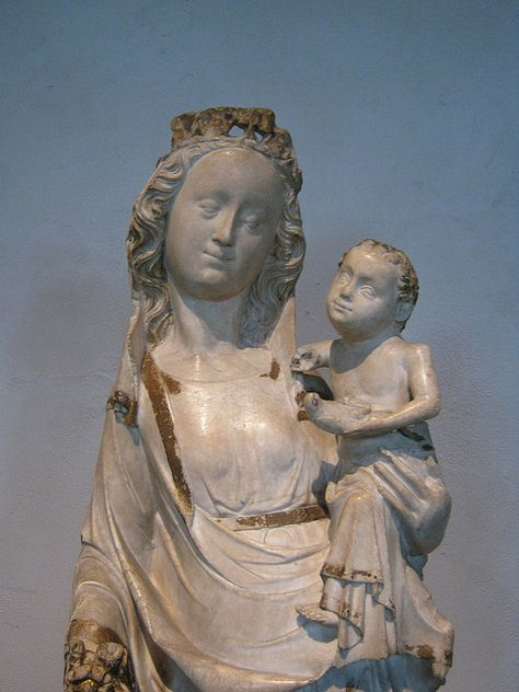 Virgin and Child. France, Champagne, about 1350. From the parish church of Cernary-les-Reims.