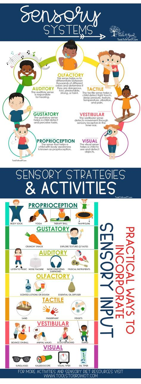 Sensory Diet: Practical Ways to Incorporate Sensory Input
