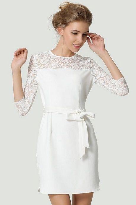 Robe blanche ceremonie civile | Tenue mariage