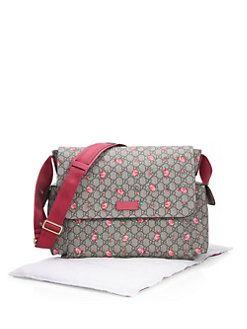 ad8175670 Gucci - Muma Rose Bud GG Diaper Bag | bebe | Girls accessories ...