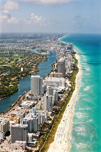 Miami Beach Coast, Florida. McQuay-Martin can get you there. 813-527-6910.