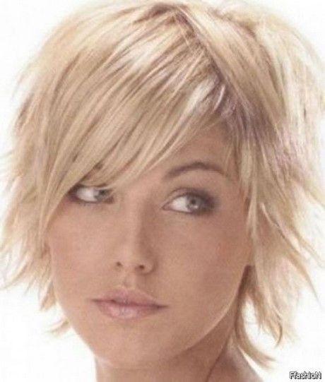 Short Haircuts For Fine Hair 2017 Haar Runde Gesichter Frisuren Frisuren Feines Haar