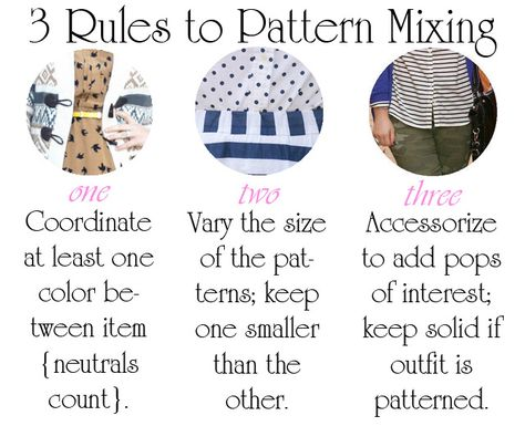 3 Rules To Pattern Mixing