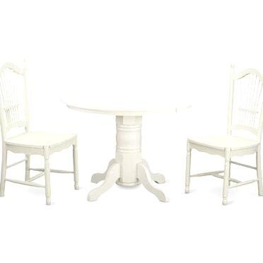 August Grove Sherlock 3 Piece Dining Set 3 Piece Dining Set Home Decor Dining