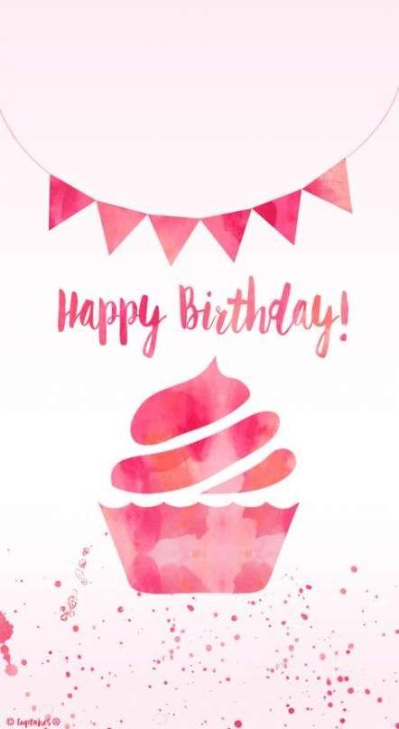 15 Trendy Cupcakes Wallpaper Iphone Happy Birthday Happy Birthday Wallpaper Happy Birthday Images Birthday Wallpaper