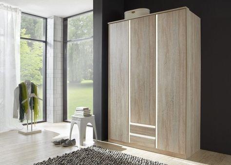 Kleiderschrank Celle 136,0 cm Alpinweiß Weiß 8283 Buy now at