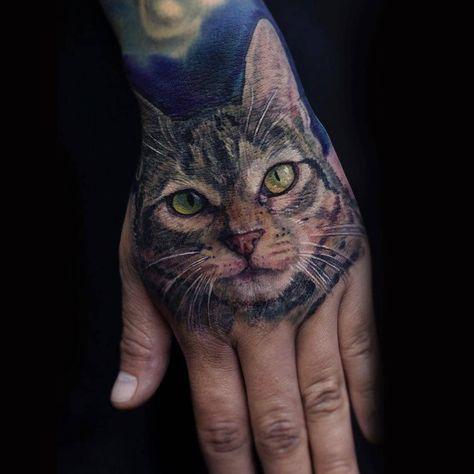 #Repost @evalotat2 • • • • • • Tatuaje en honor a un gran amor .  @radiantcolorsink @needlejig @mundoskink @tattoorealistic @the.best.tattoo.page #tattoo #tattooart #tattooink #tattooart #tattooartwork #tattoocat#tattooart #catlovers #tattooink #tattoos #tattoohealed #tattooprocess #tattooart #tattoocat #tattooink #tattooanimal %2