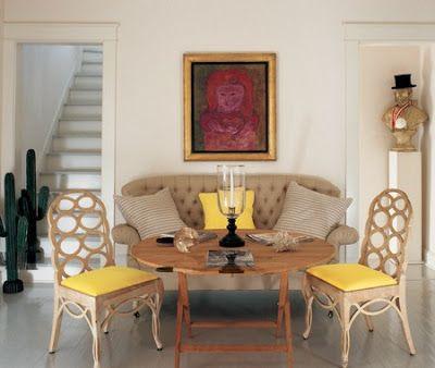 The Devoted Classicist Albert Hadley In Naples Florida Simple Furniture Dining Nook Albert Hadley