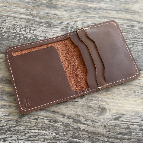 The Cahaba - Brown Leather Bifold Wallet